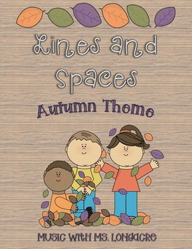 Lines and Spaces - Autumn Theme!