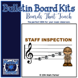 Staff Inspection Bulletin Board Kit - detective theme