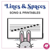Lines and Spaces Printable Worksheets and Activities