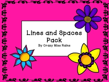 Lines and Spaces on the Staff Activity Pack