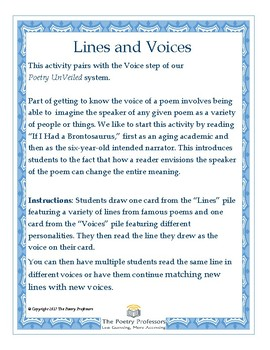 Lines and Voices