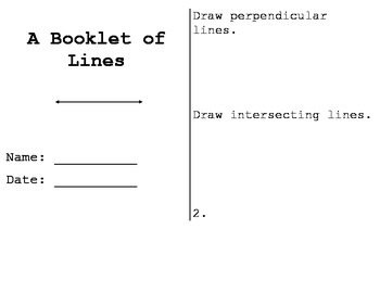Lines Booklet