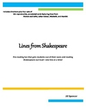 Lines from Shakespeare