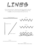 Lines in Art Introduction Packet