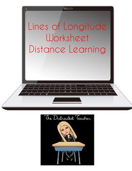 Lines of Longitude Worksheet
