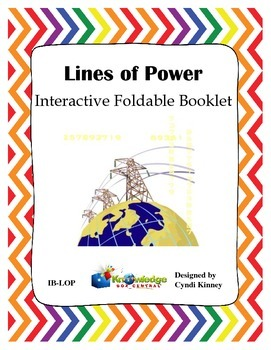 Lines of Power Interactive Foldable Booklet