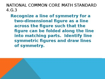 lines of symmetry interactive powerpoint 4g3