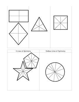 Lines of Symmetry Activity