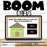 Lines of Symmetry Boom Cards
