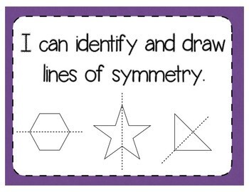 Lines of Symmetry Interactive Notebook Activity & Quick Check TEKS 4.6B
