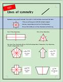 Lines of Symmetry Practice