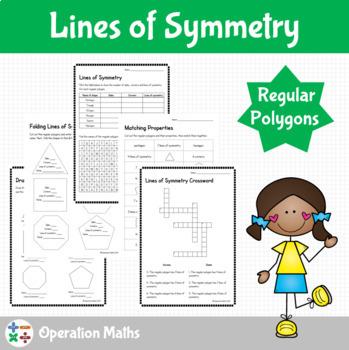 Lines of Symmetry - Regular polygons