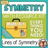 Lines of Symmetry and Symmetrical Figures Activities  Digi