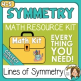 Lines of Symmetry and Symmetrical Figures Activities with