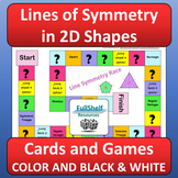 Lines of Symmetry Shapes Games