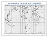 Lines of latitude and longitude - Plot places around the World