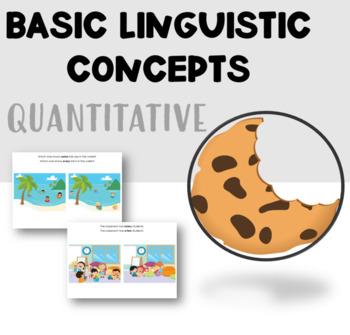 Linguistic Concepts - Quantitative