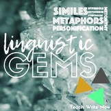 Linguistic Gems: Figurative Language Practice