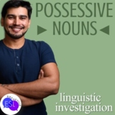 Possessive Nouns:  Linguistic Investigation