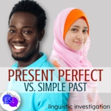 Present Perfect vs. Simple Past:  Linguistic Investigation