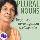 Plural Noun Spelling Rules:  Linguistic Investigation