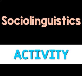Linguistics and Texting (Sociolinguistics)