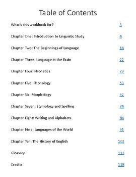Linguistics for Young People (LSINC Curriculum) Chapters 1-10 BUNDLE!
