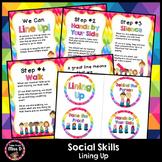 Social Skills Lining Up