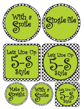 Lining Up - 5's Classroom Management