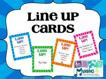 Lining Up Cards (25 Cards)