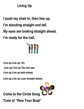Lining Up Songs