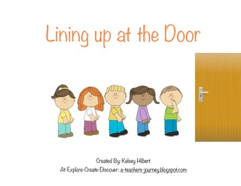 photo about Free Printable Social Stories for Preschoolers referred to as Lining Up: A Social Tale