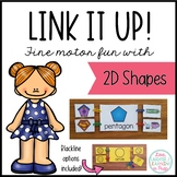 Link It Up! Fine Motor Fun with 2D Shapes