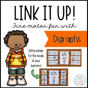 Link It Up! Fine Motor Fun with Digraphs