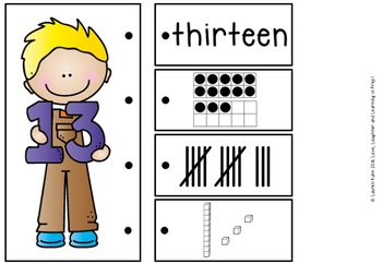 Link It Up! Fine Motor Fun with Numbers 0-20