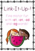 Link It Up! Fine Motor Fun with Word Families BUNDLE