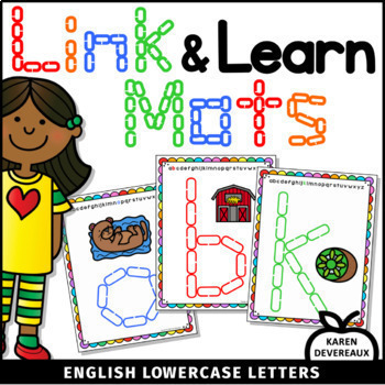 Link & Learn BUNDLE (English) - Mats for Links - Playdough Alternative