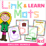 Link & Learn BUNDLE (English) - Mats for Links - Playdough Alternative