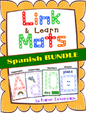 Link & Learn BUNDLE (Spanish) - Mats for Links - Playdough Alternative