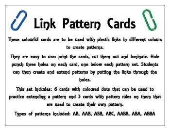 Link Pattern Cards
