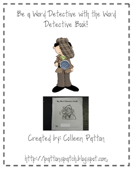 Link Spelling and Reading with this Word Detective Book