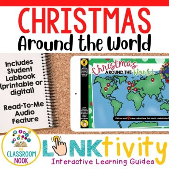Link & Think: Christmas Around the World {Google Classroom Compatible}