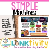 Link & Think Digital Guide - Simple Machines {Google Classroom Compatible}