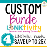 Link & Think Digital Learning Guide: CUSTOM BUNDLE (Save 25%)