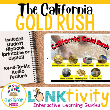Link & Think Digital Learning Guide:  California Gold Rush (Google Classroom)