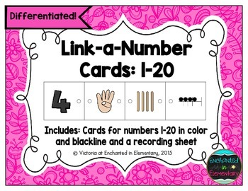 Link-a-Number Cards: A Differentiated Number Sense Activity for Numbers 1-20