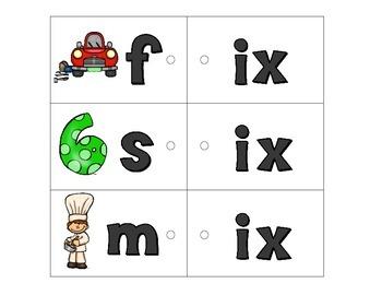Link-a-Word Cards: CVC Short I Set