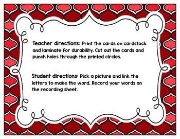 Link-a-Word Cards: L-Blends Set