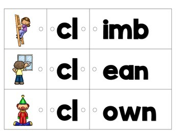 Link-a-Word Cards: L-Blends Set