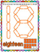 Number & Shape Mats for Links - ENGLISH (Playdough Alternative) Link & Learn